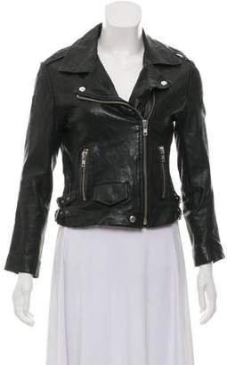 OAK Leather Moto Jacket