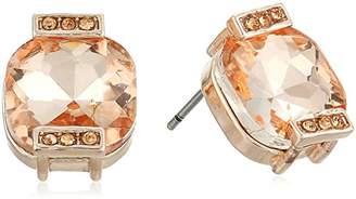Anne Klein Tone Square Stud Earrings