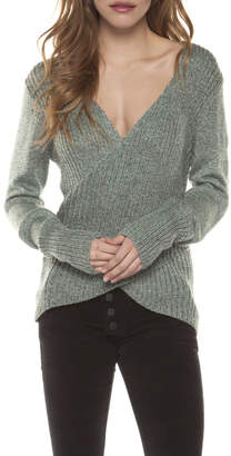 Dex Crossed Sweater Top