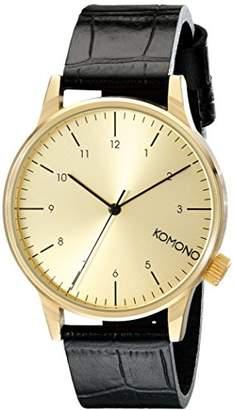 Komono Unisex Winston Monte Carlo Watch KOM-W2550