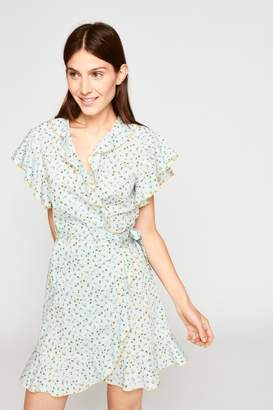 Tara Jarmon Floral Ruffled Dress