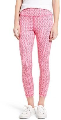 Women's Vineyard Vines Painted Whale Tail Crop Leggings $78 thestylecure.com