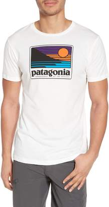 Patagonia Up & Out Graphic Organic Cotton T-Shirt