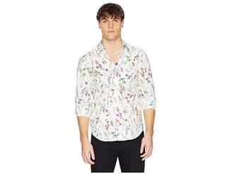 Naked & Famous Denim Regular Shirt Flower Painting