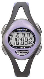 Timex Ladies Ironman Sports Watch - Gray/PurpleBand $55 thestylecure.com