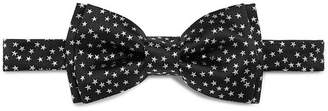 Paul Smith Pre-Tied Star Embroidered Silk Bow Tie