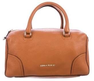 Sonia Rykiel Grained Leather Satchel