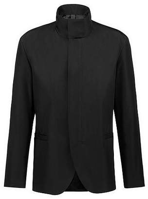 HUGO BOSS Bits & Bytes Capsule slim-fit jacket with stand collar