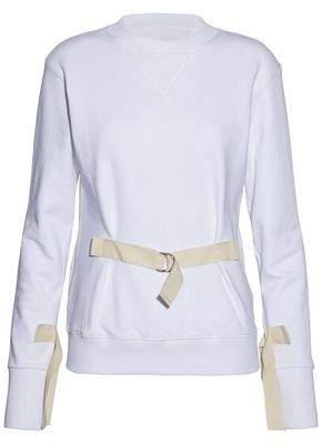 J.W.Anderson Buckled Cotton-Terry Sweatshirt