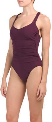 Missy Macrame Back One-piece Swimsuit