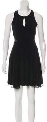 Elizabeth and James Sleeveless Mini Dress Black Sleeveless Mini Dress