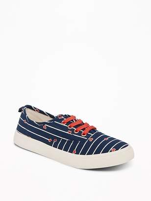 Old Navy Printed Lace-Up Sneakers for Girls
