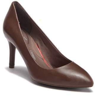 Rockport Plain Pointed Toe Leather Pump