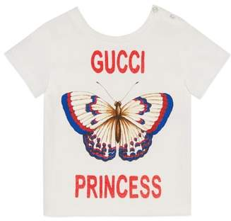 Gucci Butterfly Princess Graphic Tee