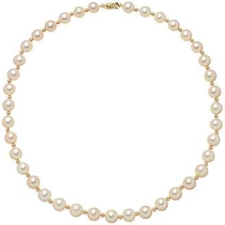 Kohl's Freshwater Cultured Pearl Necklace in 14k Gold (8-9.5 mm)