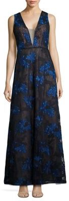 BCBGMAXAZRIA Embroidered Lace Gown $468 thestylecure.com