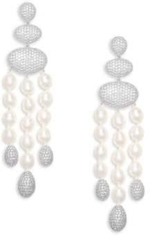 Adriana Orsini Tahiti Pearl Chandelier Earrings