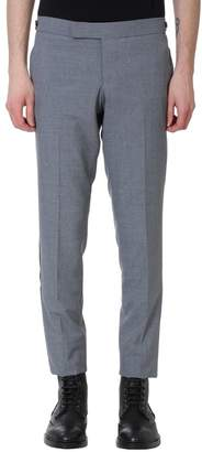 Thom Browne Low Rise Skinny Grey Wool Pants