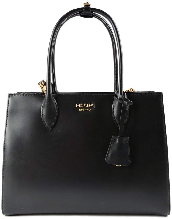 Prada City Calf Tote