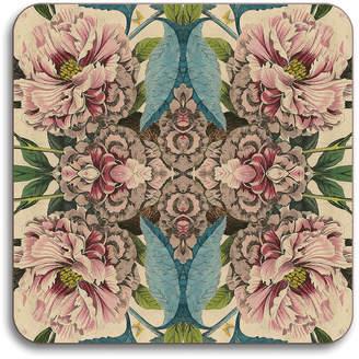 Patch NYC Avenida Home Flora Coaster - Peonies