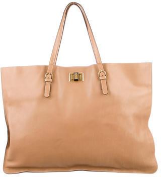 Lanvin Leather Happy Tote $545 thestylecure.com