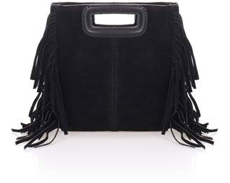 Lisa Minardi Suede Fringe Crossbody Bag