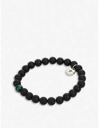 At Selfridges Psychic Sisters Obsidian S Green Bracelet