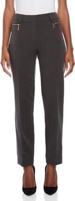 Premise Studio Petite Classic Double Zip Pants