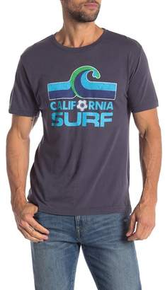 Red Jacket Cali Surf Crew Neck Tee