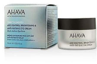 Ahava NEW Time To Smooth Age Control Brightening & Anti-Fatigue Eye Cream 15ml