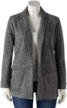 Lauren Conrad Plus Size Duster Blazer