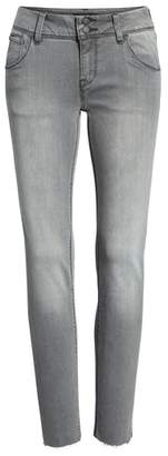 Hudson Collin Raw Hem Ankle Slim Jeans