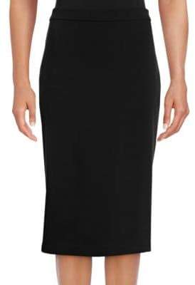 Theory Lijnek Ponte Pencil Skirt