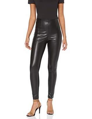 bcb7371647dbc7 Karen Millen Women's Faux Leather Legging (Black 01), (Size:)