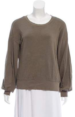 Paige Distressed Crew Neck Sweatshirt