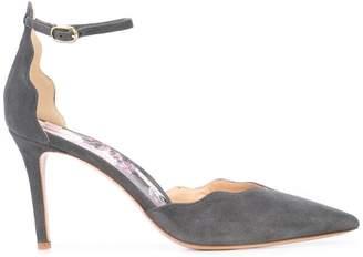 ec7ec2af0de2 Grey Ankle Strap Heels - ShopStyle UK