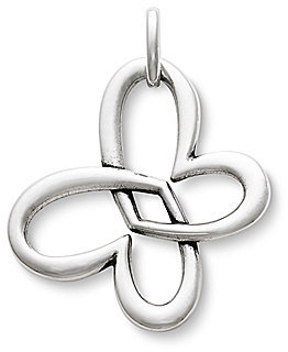 James Avery Jewelry James Avery Linked Heart Butterfly Sterling Silver Pendant