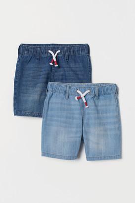 H&M 2-pack Denim Shorts