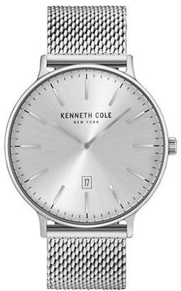 Kenneth Cole New York Analog KC15057009 Stainless Steel Mesh Strap Watch