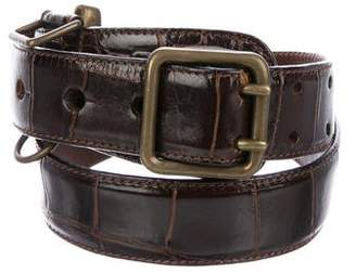 Polo Ralph Lauren Alligator Waist Belt