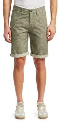 G Star Elwood 5622 Cotton Check Shorts