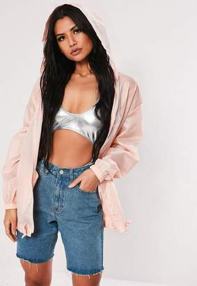 Missguided Pac A Mac Bumbag Jacket