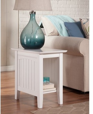Atlantic Furniture Nantucket Chair Side Table in Multiple Colors