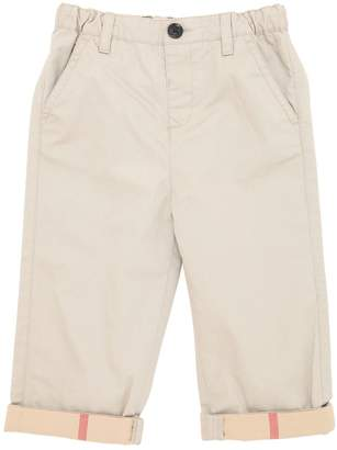 Burberry Light Cotton Gabardine Pants