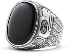 David Yurman Northwest Black Onyx Signet Ring