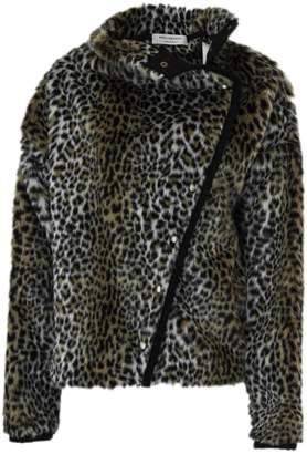 Philosophy di Lorenzo Serafini Multicolour Faux Fur Leopard Print Jacket.