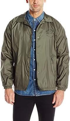 HUF Men's Bundy Coachs Jacket