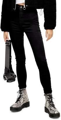 Topshop TALL Black Joni Jeans 32-Inch Leg