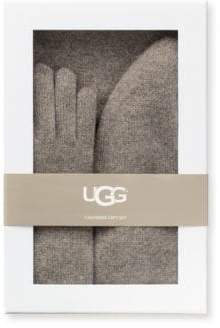 UGG 3-Piece Cashmere Beanie, Scarf and Gloves Gift Set
