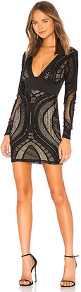 by the way. Cait Deep V Lace Dress